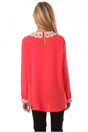 Top Goldie corail - Opullence
