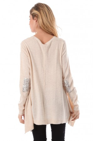 Pull Orpha beige - Why Not