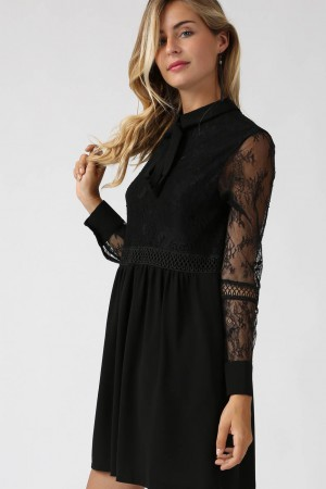 Robe Lovely noire - Grace & Mila