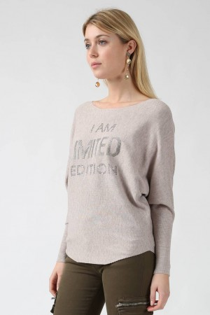 Pull Evy beige - By CDP
