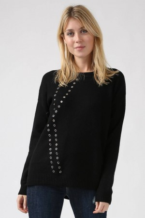 Pull Milly noir - Sweewe