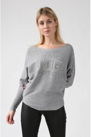 Pull Evy gris - By CDP