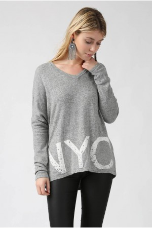 Pull NYC gris - By CDP