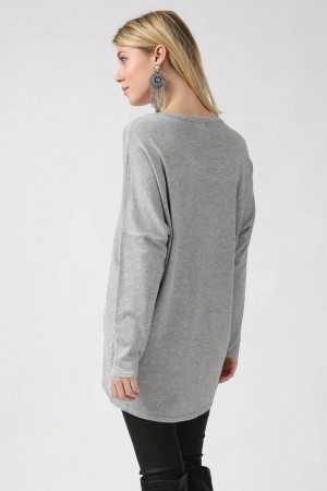 Pull Alya gris - By CDP
