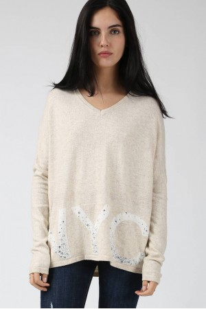 Pull NYC beige - By CDP