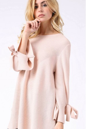 Pull Zadig rose - Sweewe