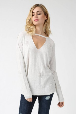 Pull Date gris - Why Not