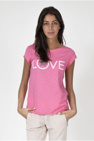 Tee-shirt Love rose