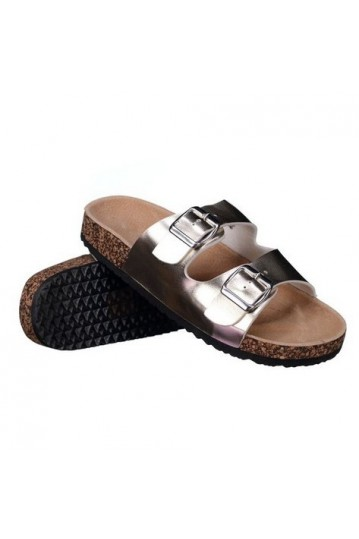Sandales boucles Or