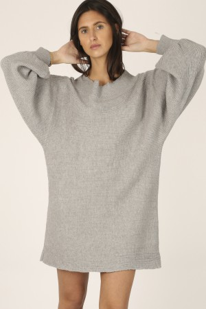 Robe Pull grise - Kelly